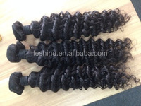 Raw Weft Full Cuticle Large Discount Mongolian Hair 8A Cut From Young Girls