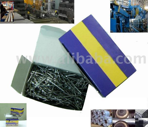 Nail & Screw & Copper Tubes & Stanless Steel Tubes