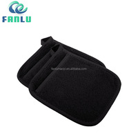 Promotional Terry Cloth Square Custom Cuisines Oven Mitts