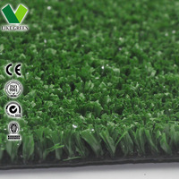 Dark Green Artificial Athletic Turf