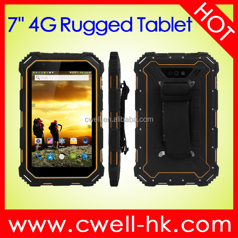 Alps S933L 4G Rugged <strong>Tablet</strong> 7.0 Inch HD Screen Android 5.1 IP68 Waterproof NFC Rugged <strong>Tablet</strong> PC