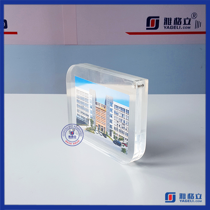 Double sided acrylic magnetic Photo Frame manufacturer