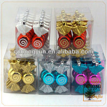 10CM 12PCS PLATED CANDY
