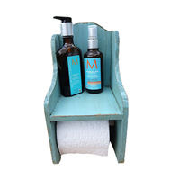 Manufacturer Bathroom Wooden Toilet Paper Holder