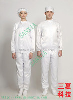 china cleanroom jumpsuit/anti-static clean room gown/ protective smock