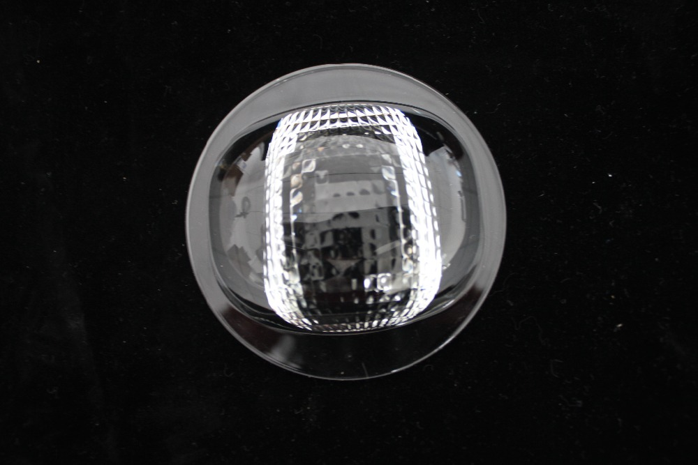 92mm led glass lens, Suitable for 20W-150W Led street light (GT-92-2-6)