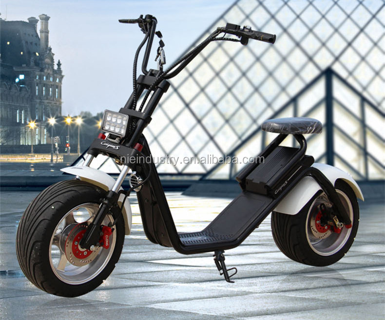 Nzita scooter, electric motorcycle, Citycoco