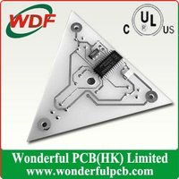 triangle Aluminum PCB assembly service/ components purchase available