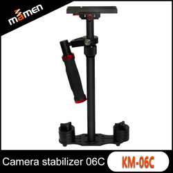 Professional Carbon fiber KM-06C 57cm Mini Hand Held Stand Camera Stabilizer Gimbal Steadycam Steadicam For Mobile phone DSLR