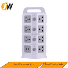 Electrical e14 Lamp Socket Vertical ppr socket Multiple American Socket