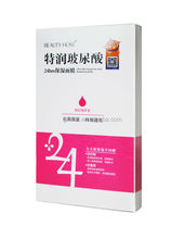 24hrs Ultra Hyaluronic Acid Moisturizing Silk Face Mask, Skin Care
