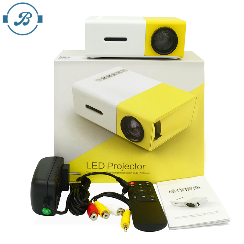 2017 the Most Popular Small LCD Low Price YG300 Mini Projector