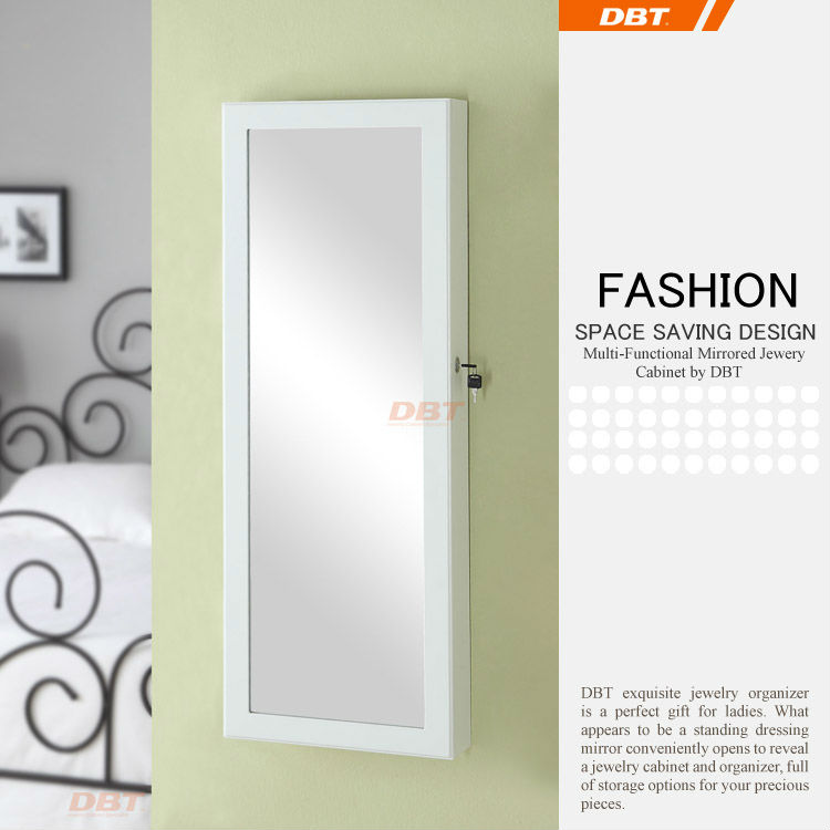 wholesale merchant wall mirror jewelry cabinet