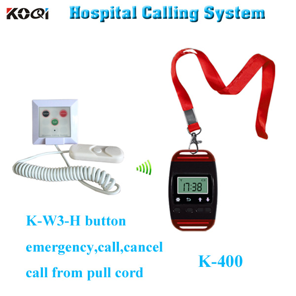 emergency alarm system for hospital SOS smart watch and patient push button