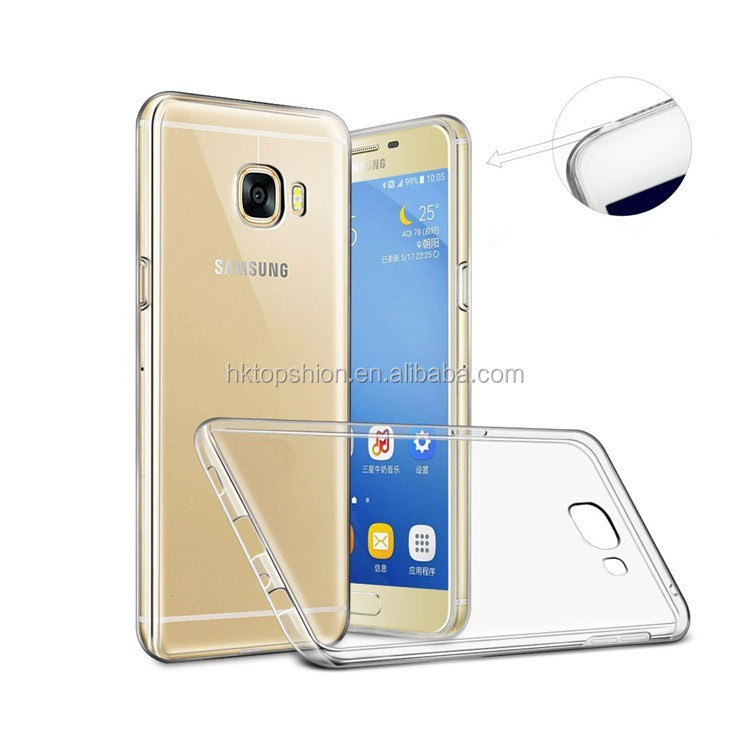 Hot new for samsung galaxy s8 case tpu super slim transparent clear cover case