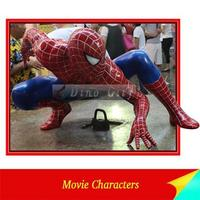High Quality FRP Spiderman Statue