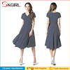 Wholesale Vintage Style Polka Dot Sleeveless A-line Women Dress