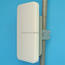 AMEISON Antenna 2.4 GHz 15 dBi WiFi Directional Wall Mount Flat Patch Panel MIMO Antenna pole mount enclosure