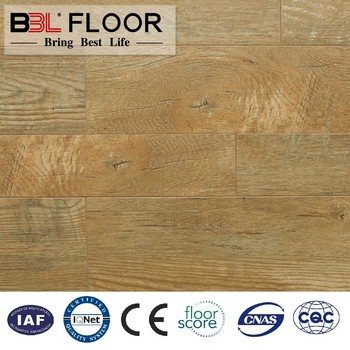 New decor 8mm v-groove large emboss laminate flooring edge wax