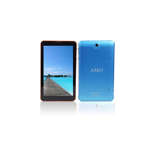 Retail/wholesale In stock 7 inch MTK8312cw dual core 3G phone call android 4.4 cheapest tablet pc with AMO logo