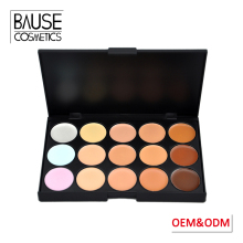 Best oem makeup cosmetics waterproof 15 colors face concealer 15 color concealer palette for oily skin