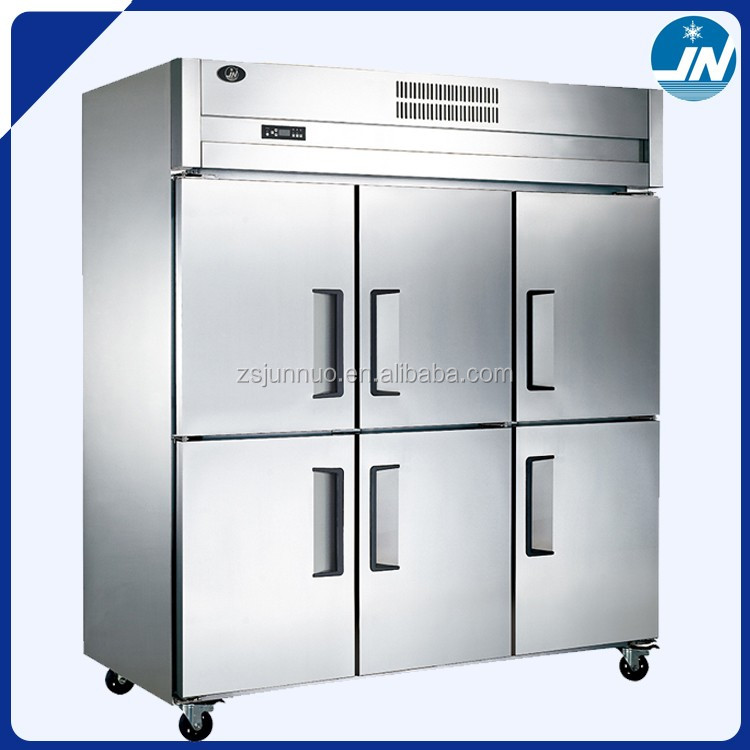 luxurious stainless steel deep refrigerator/1400l commercial upright freezer LF150C6-P