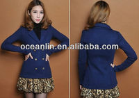 2013 fashion women jacket model
