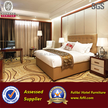 2017 high quality Modern wooden 5 Star hotel furniture bedroom
