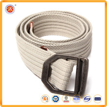 Factory Direct Sale custom logo canvas fabric belt manufacturer with pin buckle