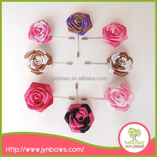 Different fancy color rose flower wholesale brooch pin