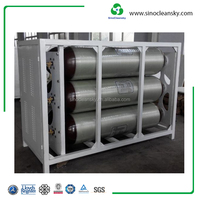 25MPa 80L CNG Cylinder Group Cascade