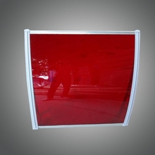 plastic building materials polycarbonate sunshade roof sheet