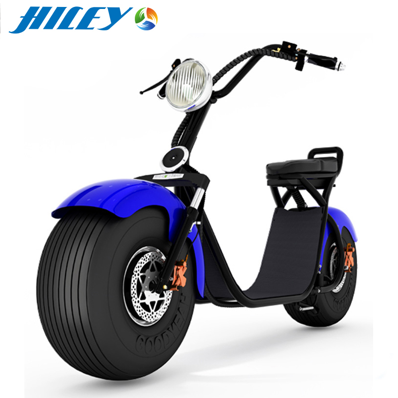 Electric Lifestyle Fat Tire Scooter 1200W Hub Motor E-Bike Bicycle