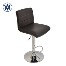 Wholesale Price PU cover bar chair stools Metal Base Swivel Bar Stool For Heavy People
