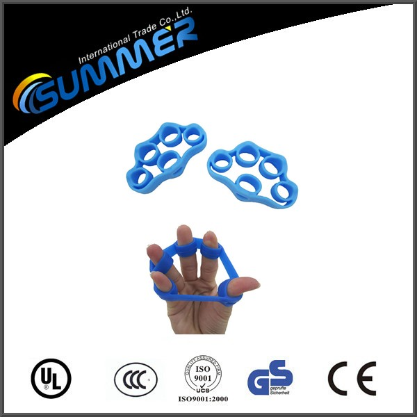 Therapy For Finger, Rubber Hand Grip Strength Exercises Silicone Finger Tubing