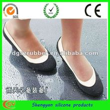 Waterproof anti slip rubber silicone shoe cover
