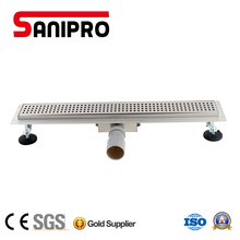 Smart stainless steel floor drain shower linear drain