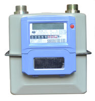 IC card wireless remote gas meter with aluminium case (G1.6/2.5/4)