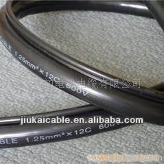 Strengthen Steel Wire Supporting Crane Control Cable PVC Insulated and Sheath (RVV2G 16*1.0)