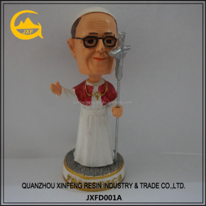 custom resin bobblehead figurine