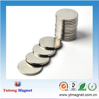 China manufacturer customized permanent strong sintered rare earth ndfeb motor N52 neodymium generator magnets