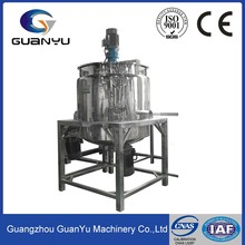Good Quality Liquid Washing Single-Way Stainless Steel Mixing Vats