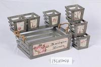 wooden basket for gift baskets wholesale