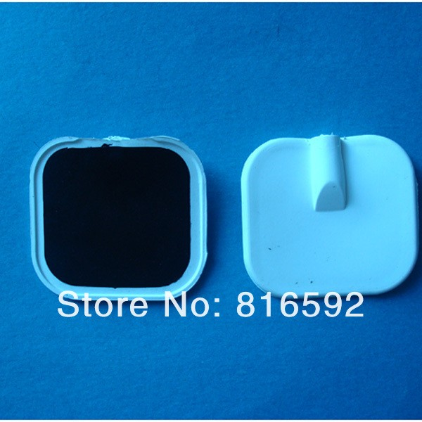 Silicon electrode/tens electrode/massage electrode pads with gel