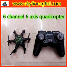 2015 china shenzhen 2.4GHz 6 channel 6 axis RC drone helicopter