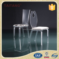 Best Price and High Quality Acrylic Transparent Clear Dining Chair
