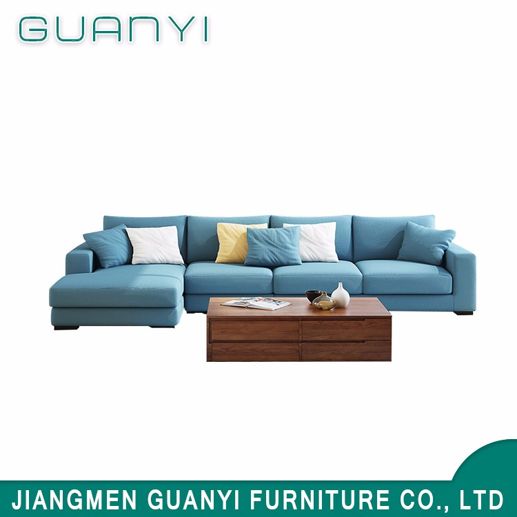 American Style Modern Simple Sectional Sofa Set Design