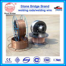 CO2 Gas Shielded welding wire aws er70s-6 esab welding wire plastic spool for weld