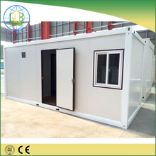 High quality Tiny prefabricated Steel frame container house prices Made in China