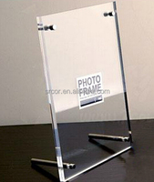 A4 table card brand acrylic transparent advertising display card authorization card medal photo frame 23*32